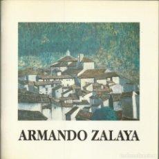 Arte: ARMANDO ZALAYA. CORTES DE ARAGÓN 1990, 32 PÁGINAS. Lote 235845850