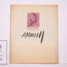 Arte: CATÁLOGO / PUBLICACIÓN PINTURAS DE ANTONI MUNILL PUIG - BARCELONA, AÑO 1974. Lote 236167600