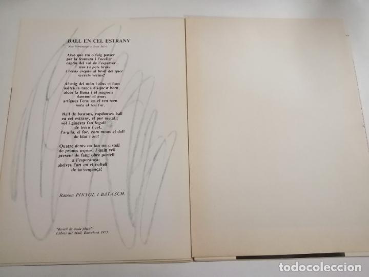 Arte: Joan Miró. Un camí compartit. 1976 Barcelona. Galeria Maeght. - Foto 4 - 236350160