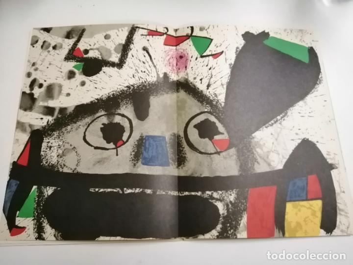 Arte: Joan Miró. Un camí compartit. 1976 Barcelona. Galeria Maeght. - Foto 5 - 236350160