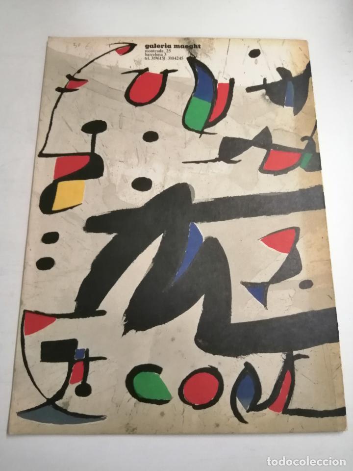 Arte: Joan Miró. Un camí compartit. 1976 Barcelona. Galeria Maeght. - Foto 7 - 236350160