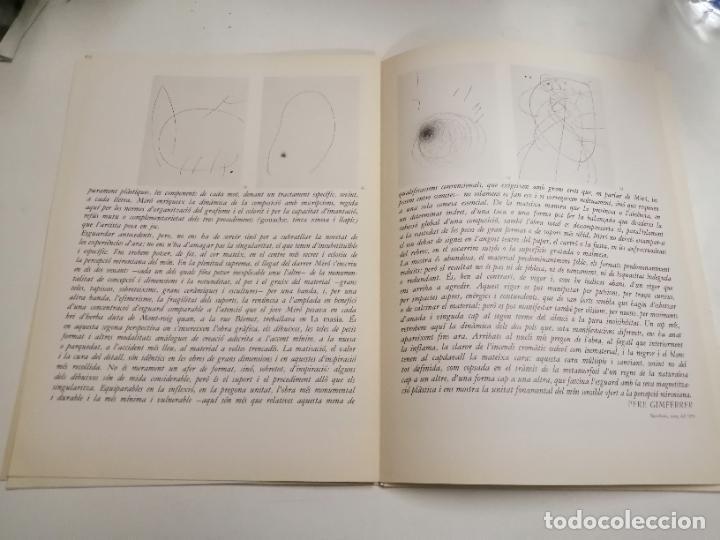 Arte: Joan Miró. Miró. 1978 Barcelona. Galeria Maeght. Dibuixos, gouaches, monotips - Foto 4 - 236350925