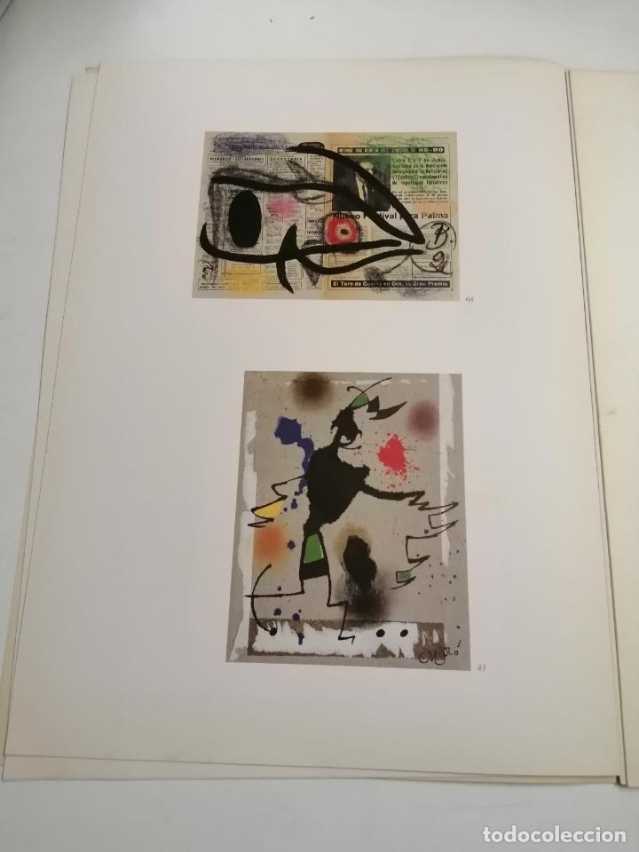 Arte: Joan Miró. Miró. 1978 Barcelona. Galeria Maeght. Dibuixos, gouaches, monotips - Foto 5 - 236350925