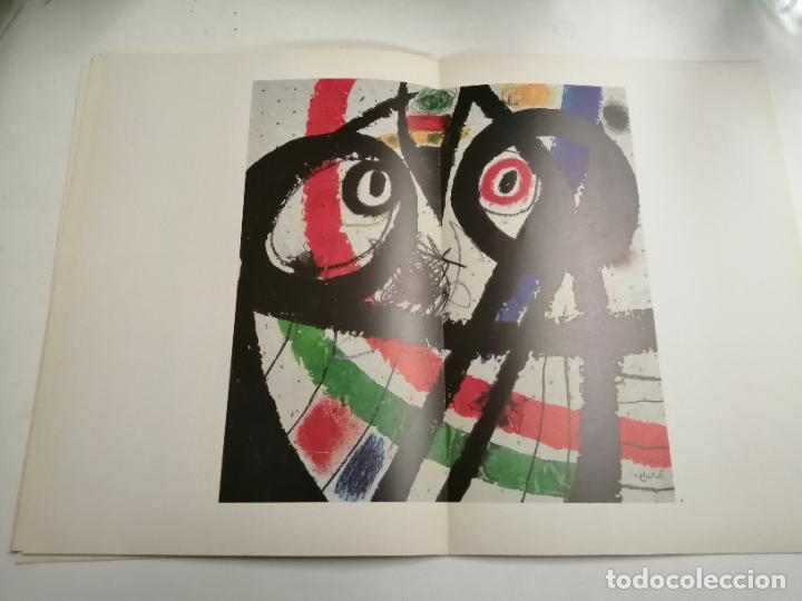 Arte: Joan Miró. Miró. 1978 Barcelona. Galeria Maeght. Dibuixos, gouaches, monotips - Foto 6 - 236350925