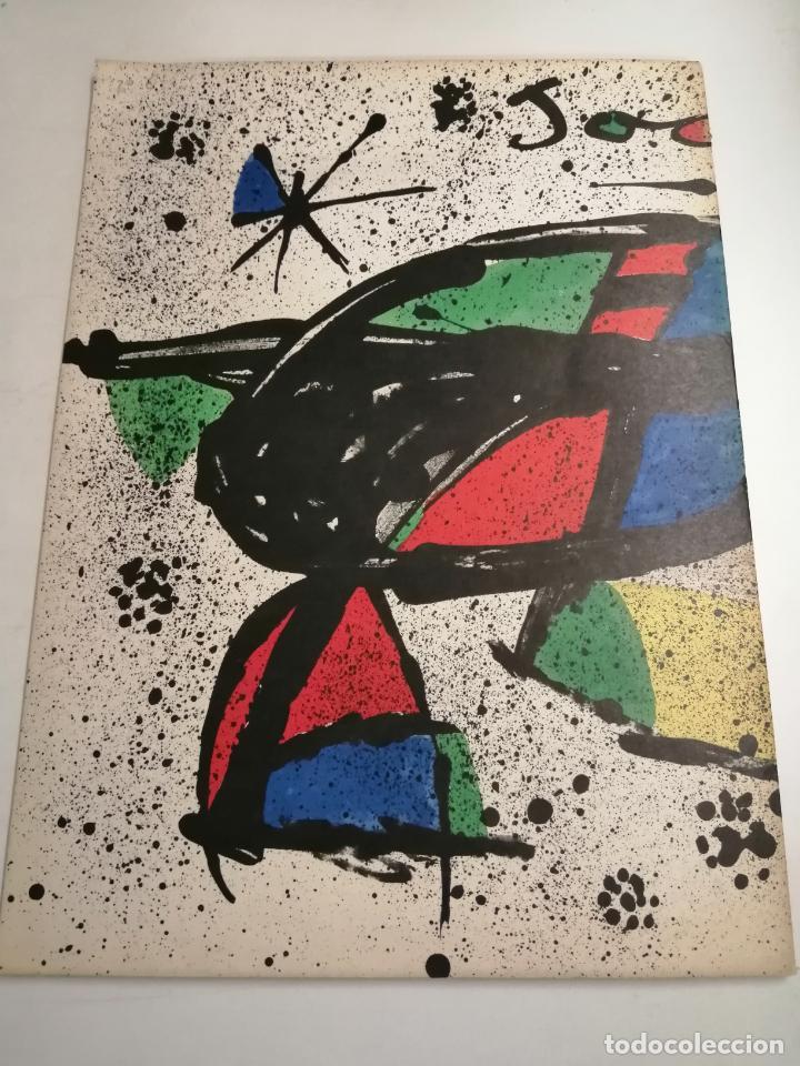 Arte: Joan Miró. Miró. 1978 Barcelona. Galeria Maeght. Dibuixos, gouaches, monotips - Foto 8 - 236350925