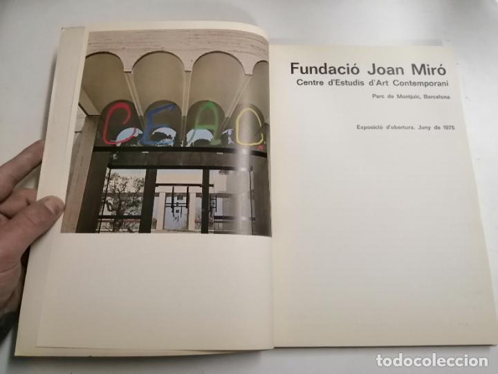 Arte: Fundació Joan Miró. Centre dEstudis dArt Contemporani. Exposició dobertura. 1975 Barcelona - Foto 2 - 236351820