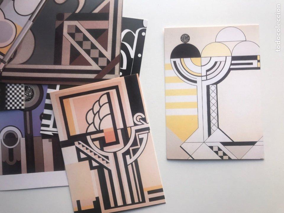 Arte: Envío8€. ANZO 06. 9 postales 10,5x15cm. Exposición homenaje - Foto 5 - 237648740