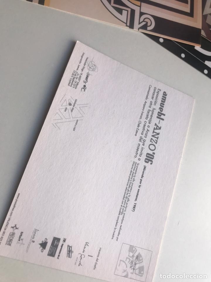 Arte: Envío8€. ANZO 06. 9 postales 10,5x15cm. Exposición homenaje - Foto 6 - 237648740