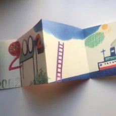 Arte: ENVÍO 6€. FELICITACIÓN PSPV/PSOE NAVIDAD 14X14CM CERRADA. OBRA DE ARTUR HERAS. Lote 237650520
