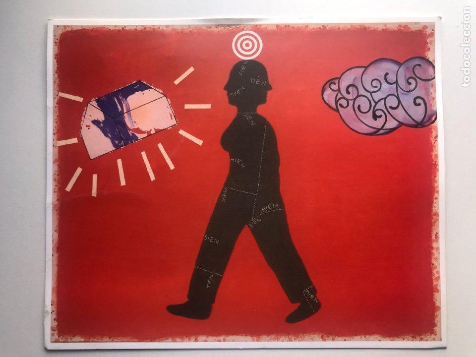 ENVÍO 6€. POSTAL INVITACIÓN 18X21,5CM GALERIA I LEONARTE. OBRA DE ARTUR HERAS (Arte - Catálogos)