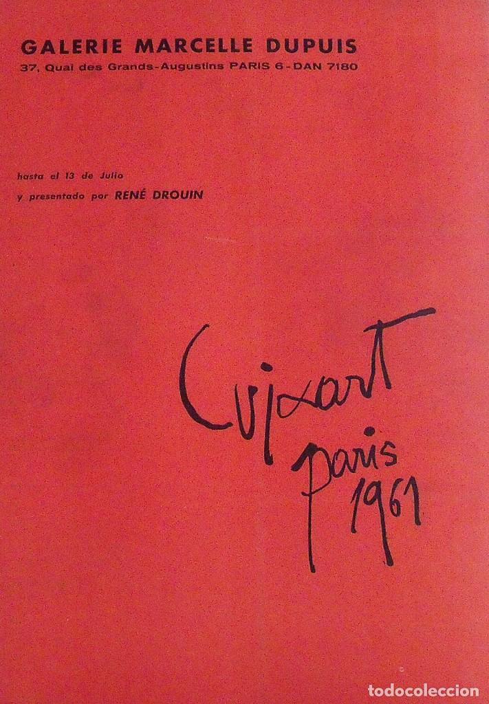 Arte: Correo de las Artes. 32. Junio-Julio 1961. 35x25 cm. Sin paginar. Antonio Saura. Pochoir. - Foto 4 - 178961002