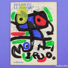 Arte: DERRIERE LE MIROIR - JOAN MIRÓ - SCULPTURES, MAEGHT EDITOR 1970. NUM. 186. Lote 239377455