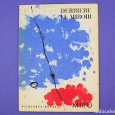 Arte: DERRIERE LE MIROIR - JOAN MIRÓ , PEINTURES MURALES, MAEGHT EDITEUR 1961. NUM 128.. Lote 239389880