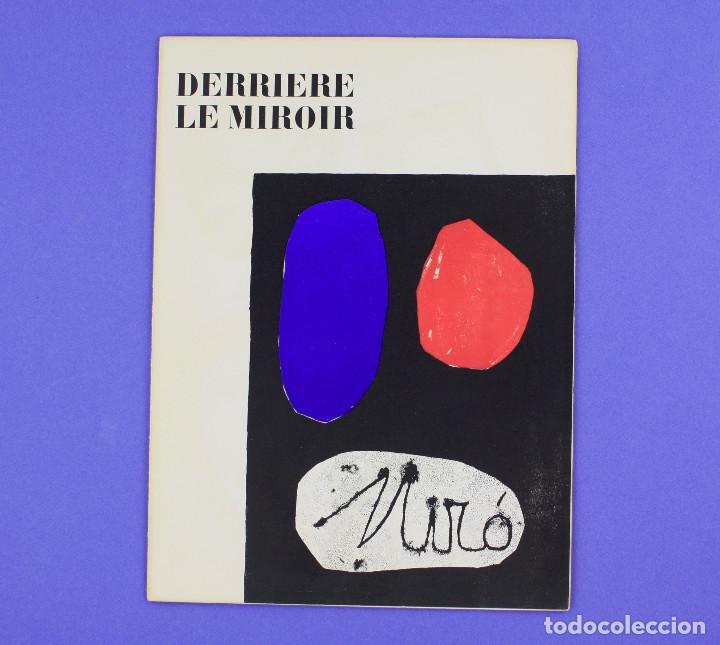DERRIERE LE MIROIR - JOAN MIRÓ - MAEGHT EDITEUR 1953. NUM 57,58,59. (Arte - Catálogos)