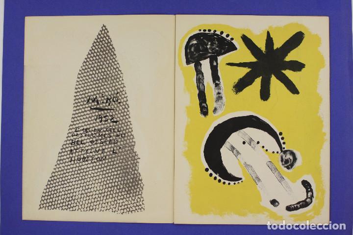 Arte: DERRIERE LE MIROIR - JOAN MIRÓ - MAEGHT EDITEUR 1953. NUM 57,58,59. - Foto 2 - 239391520