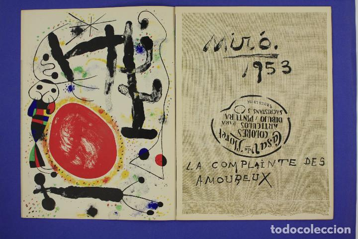 Arte: DERRIERE LE MIROIR - JOAN MIRÓ - MAEGHT EDITEUR 1953. NUM 57,58,59. - Foto 3 - 239391520