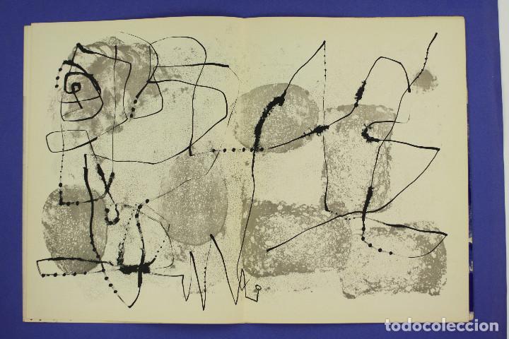 Arte: DERRIERE LE MIROIR - JOAN MIRÓ - MAEGHT EDITEUR 1953. NUM 57,58,59. - Foto 4 - 239391520