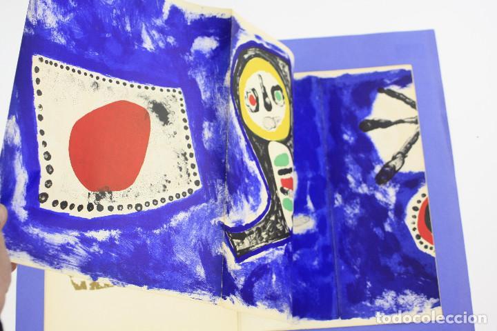 Arte: DERRIERE LE MIROIR - JOAN MIRÓ - MAEGHT EDITEUR 1953. NUM 57,58,59. - Foto 6 - 239391520
