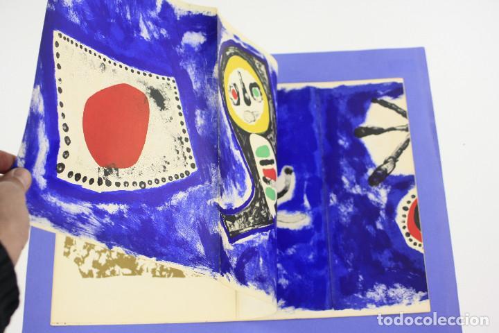 Arte: DERRIERE LE MIROIR - JOAN MIRÓ - MAEGHT EDITEUR 1953. NUM 57,58,59. - Foto 7 - 239391520