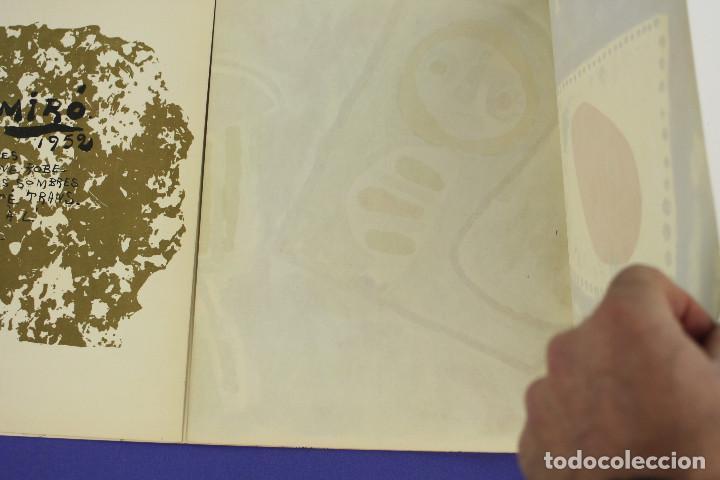 Arte: DERRIERE LE MIROIR - JOAN MIRÓ - MAEGHT EDITEUR 1953. NUM 57,58,59. - Foto 8 - 239391520