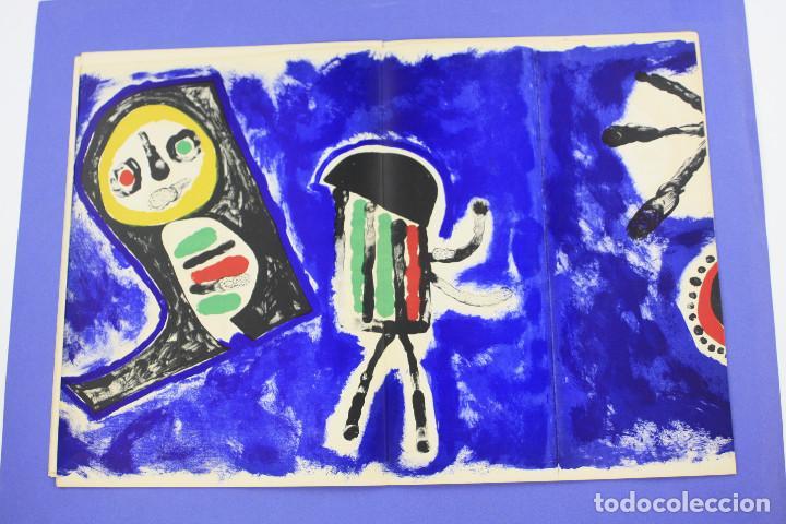 Arte: DERRIERE LE MIROIR - JOAN MIRÓ - MAEGHT EDITEUR 1953. NUM 57,58,59. - Foto 9 - 239391520