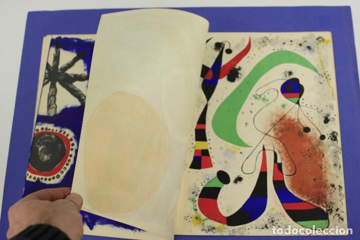 Arte: DERRIERE LE MIROIR - JOAN MIRÓ - MAEGHT EDITEUR 1953. NUM 57,58,59. - Foto 11 - 239391520