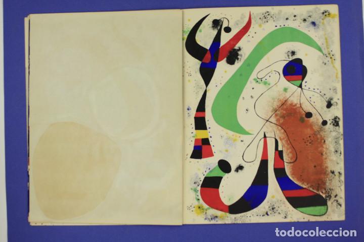 Arte: DERRIERE LE MIROIR - JOAN MIRÓ - MAEGHT EDITEUR 1953. NUM 57,58,59. - Foto 12 - 239391520
