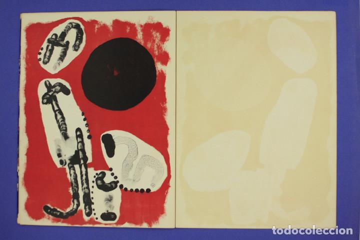 Arte: DERRIERE LE MIROIR - JOAN MIRÓ - MAEGHT EDITEUR 1953. NUM 57,58,59. - Foto 13 - 239391520