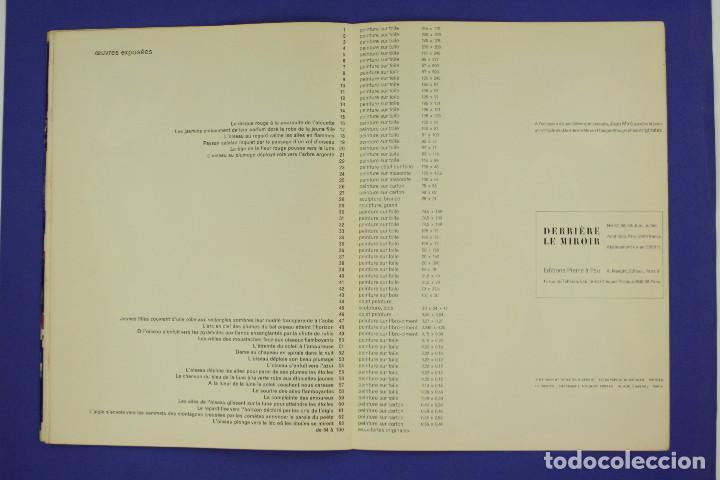 Arte: DERRIERE LE MIROIR - JOAN MIRÓ - MAEGHT EDITEUR 1953. NUM 57,58,59. - Foto 14 - 239391520