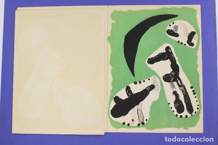Arte: DERRIERE LE MIROIR - JOAN MIRÓ - MAEGHT EDITEUR 1953. NUM 57,58,59. - Foto 16 - 239391520