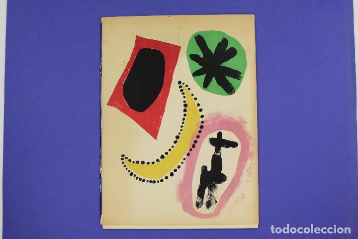 Arte: DERRIERE LE MIROIR - JOAN MIRÓ - MAEGHT EDITEUR 1953. NUM 57,58,59. - Foto 17 - 239391520