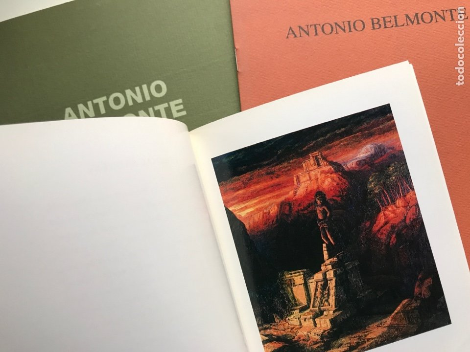 Arte: Envío 8€. 3 Catálogos ANTONIO BELMONTE. Miden 24x27cm, 21x16cm y17x12cm. Anos 91 y 92 - Foto 2 - 240404065