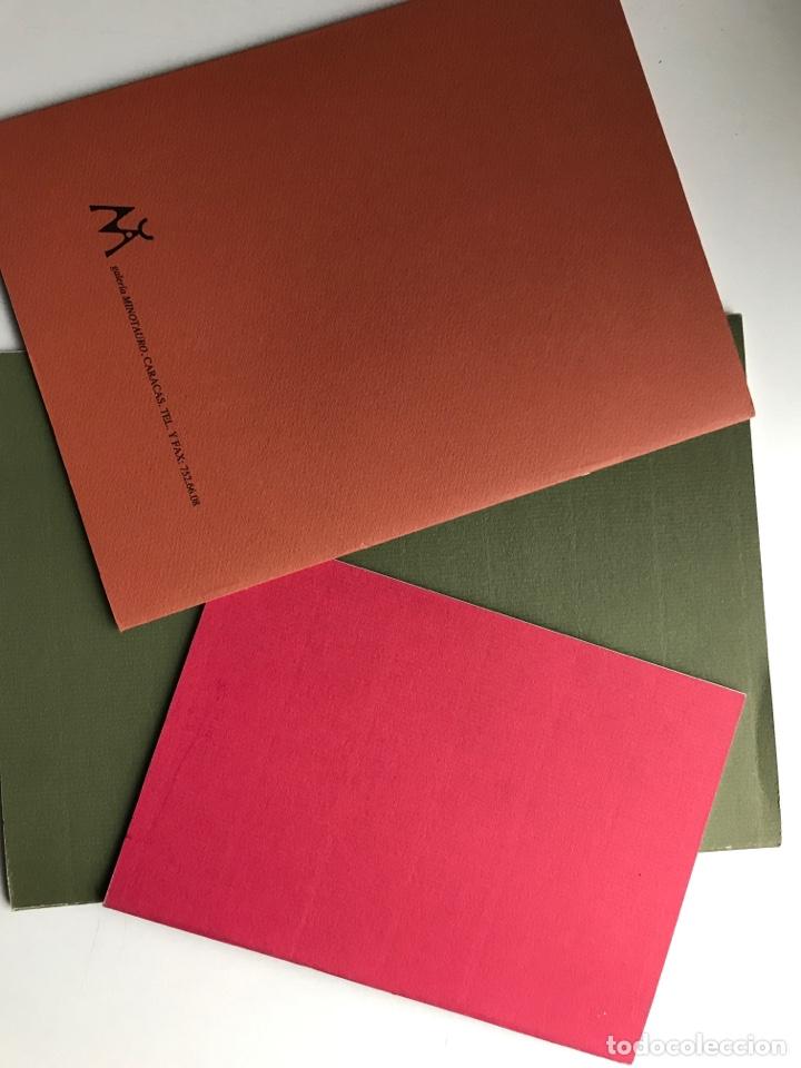 Arte: Envío 8€. 3 Catálogos ANTONIO BELMONTE. Miden 24x27cm, 21x16cm y17x12cm. Anos 91 y 92 - Foto 5 - 240404065