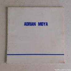 Art: ADRIÁN MOYA. CATALOGO EXPOSICIÓN EN GALERÍA GRANERO, CUENCA, 1988. 24 PGS.. Lote 241047935