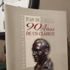 Arte: JUAN DE AVALOS 90 AÑOS DE UN CLASICO. Lote 241852950