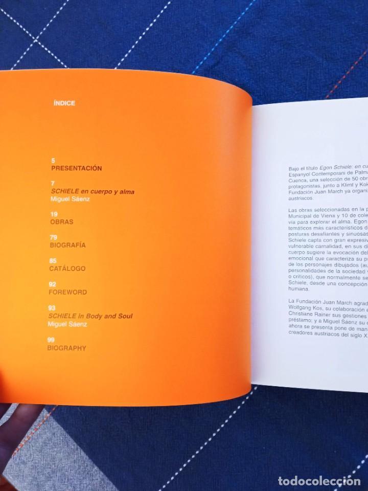 Arte: Catálogo EGON SCHIELE. En Cuerpo y Alma. Fundación Juan March 2005. - Foto 5 - 241943950