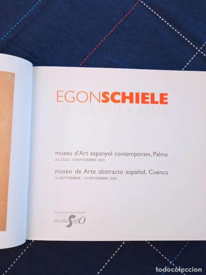 Arte: Catálogo EGON SCHIELE. En Cuerpo y Alma. Fundación Juan March 2005. - Foto 7 - 241943950