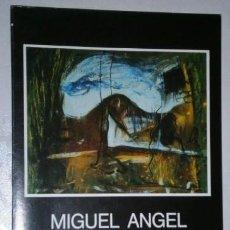Arte: HOMENAJE A MIGUEL ANGEL LOMBARDÍA POR JESÚS VILLA PASTUR DE XIX CERTAMEN PINTURA DE LUARCA EN 1988. Lote 243067725