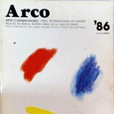 Arte: CATÁLOGO DE ARTE ARCO 1986. Lote 243459270