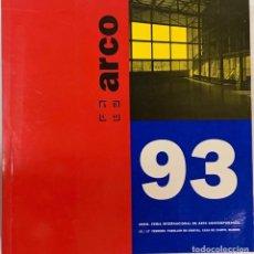 Arte: CATÁLOGO ARCO 1993. Lote 243481165