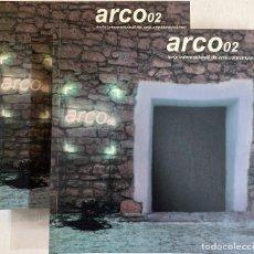 Arte: CATÁLOGO DOBLE DE ARCO 2002. Lote 243481760