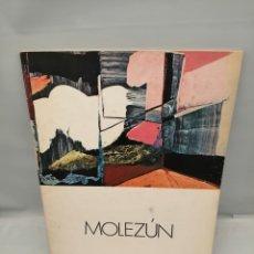 Art: MOLEZÚN (CATÁLOGO EXPOSICIÓN GALERÍA RUIZ-CASTILLO, MADRID, FEBRERO MARZO 1975). Lote 243568785
