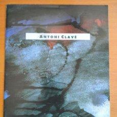Arte: ANTONI CLAVÉ EXPOSICIÓN EN LA EXPO 92 DE SEVILLA. Lote 243813850