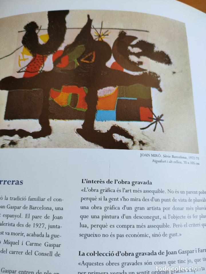 Arte: Obra gravada de la colección Joan Gaspar santa Coloma 1998 tríptico exposición - Foto 3 - 243817265