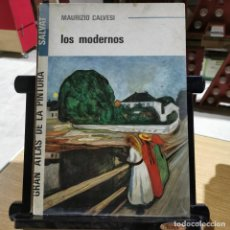 Arte: CATALOGO ARTE - LOS MODERNOS - MAURIZIO CALVESI - GRAN ATLAS DE PINTURA - SALVAT / 13.662. Lote 244668865