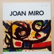 Arte: JOAN MIRO - MUSEO DE ARTE COSTARRICENSE 1991. Lote 245231270