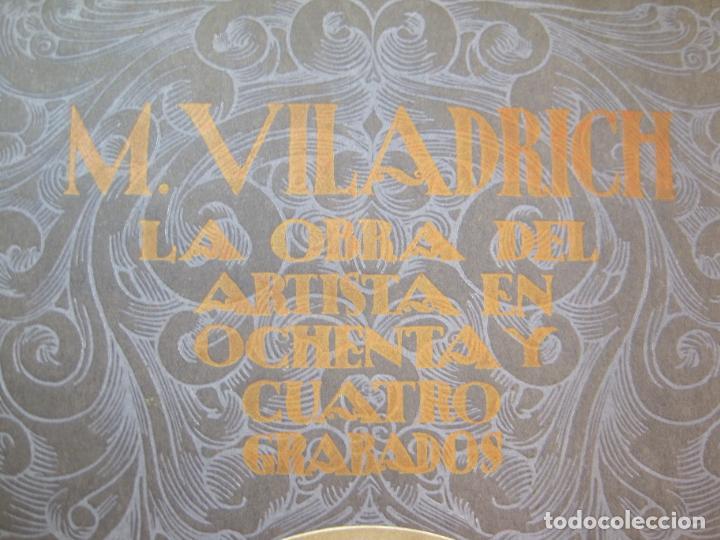 Arte: M. VILADRICH-LA OBRA DEL ARTISTA EN 84 GRABADOS-CATALOGO DE ARTE-VER FOTOS-(V-22.548) - Foto 2 - 245254525