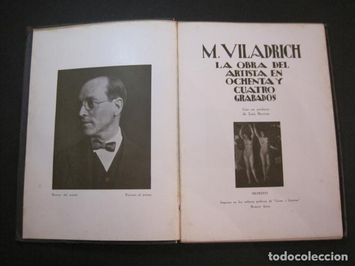 Arte: M. VILADRICH-LA OBRA DEL ARTISTA EN 84 GRABADOS-CATALOGO DE ARTE-VER FOTOS-(V-22.548) - Foto 9 - 245254525