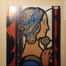 Arte: EL VITRALL MODERNISTA - FUNDACIÓ JOAN MIRÓ - 1984. Lote 245985855