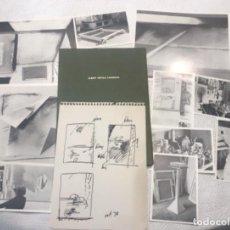 Arte: CARPETA CATÁLOGO DE ALBERT RÀFOLS CASAMADA GALERIA ADRIÀ 1974.. Lote 246058535